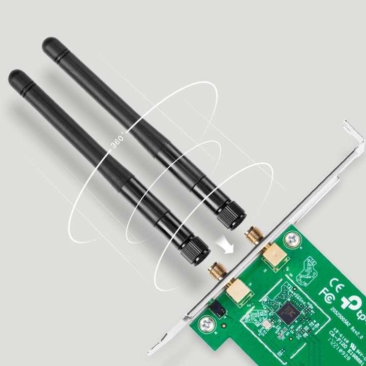 Tarjeta de red PCI-Express TP-Link TL-WN881ND-Wireless-300MB - 0