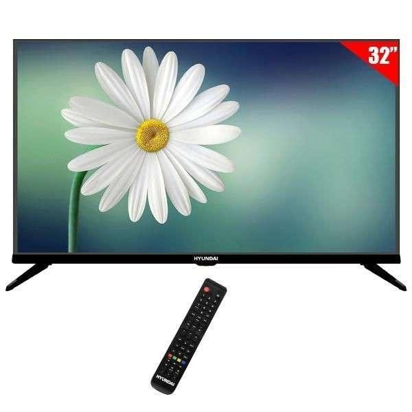 Televisor led Hyundai 32 pulgadas HY32DTHC HD - 0
