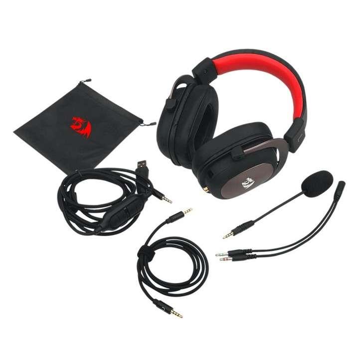 Auricular Gamer Redragon Zeus 2 H510-1 - Rojo/Negro - 4
