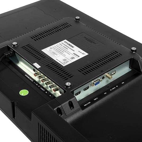 Televisor led Hyundai 32 pulgadas HY32DTHC HD - 1