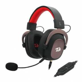 Auricular Gamer Redragon Zeus 2 H510-1 - Rojo/Negro