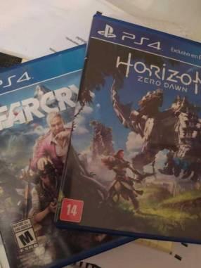 Far Cry 4 y Horizon Zero Dawn para PS4