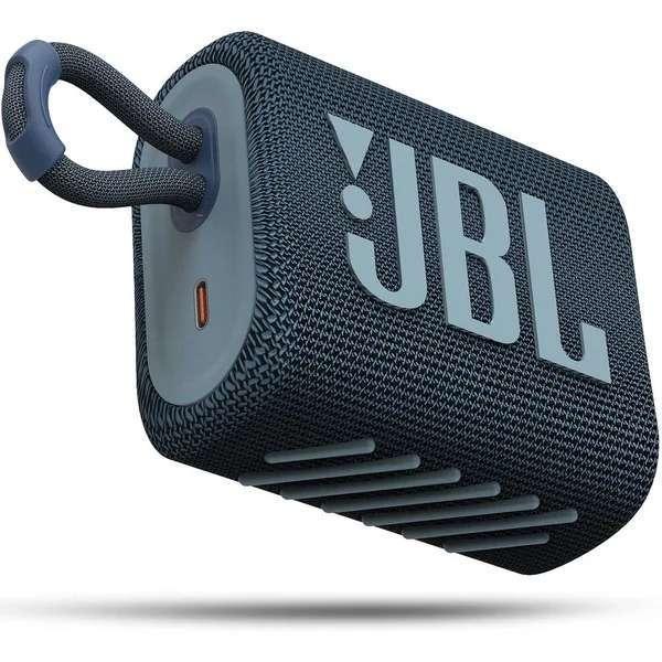 Speaker JBL Go 3 bluetooth azul - 0