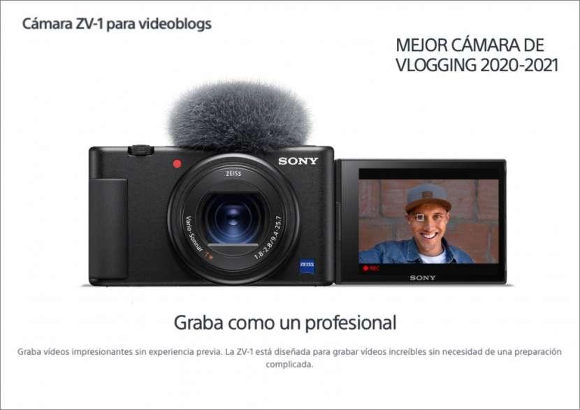 Cámara Sony ZV-1 - 0