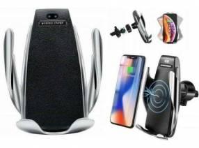 Porta celular para auto con sensor recargable