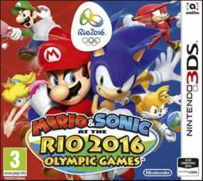 Juego de Mario y Sonic Rio 2016 para Nintendo 3DS