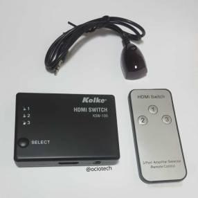 Switch HDMI 3x1 Kolke