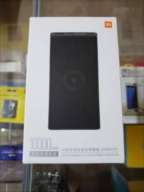 Cargador portatil Xiaomi 10000 mAh inalámbrico y por cable