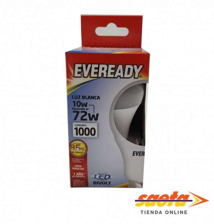 Foco led luz blanca 10W Eveready - 0