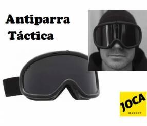 Antiparra táctica para la moto o para protección