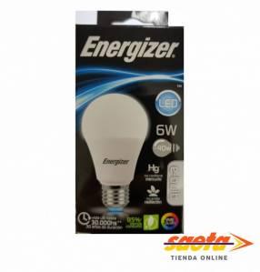 Foco led Energizer E27-6W fría