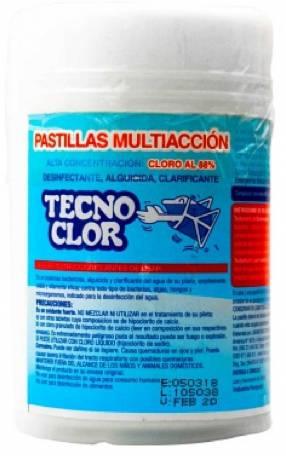 Pastillas de cloro multiacción