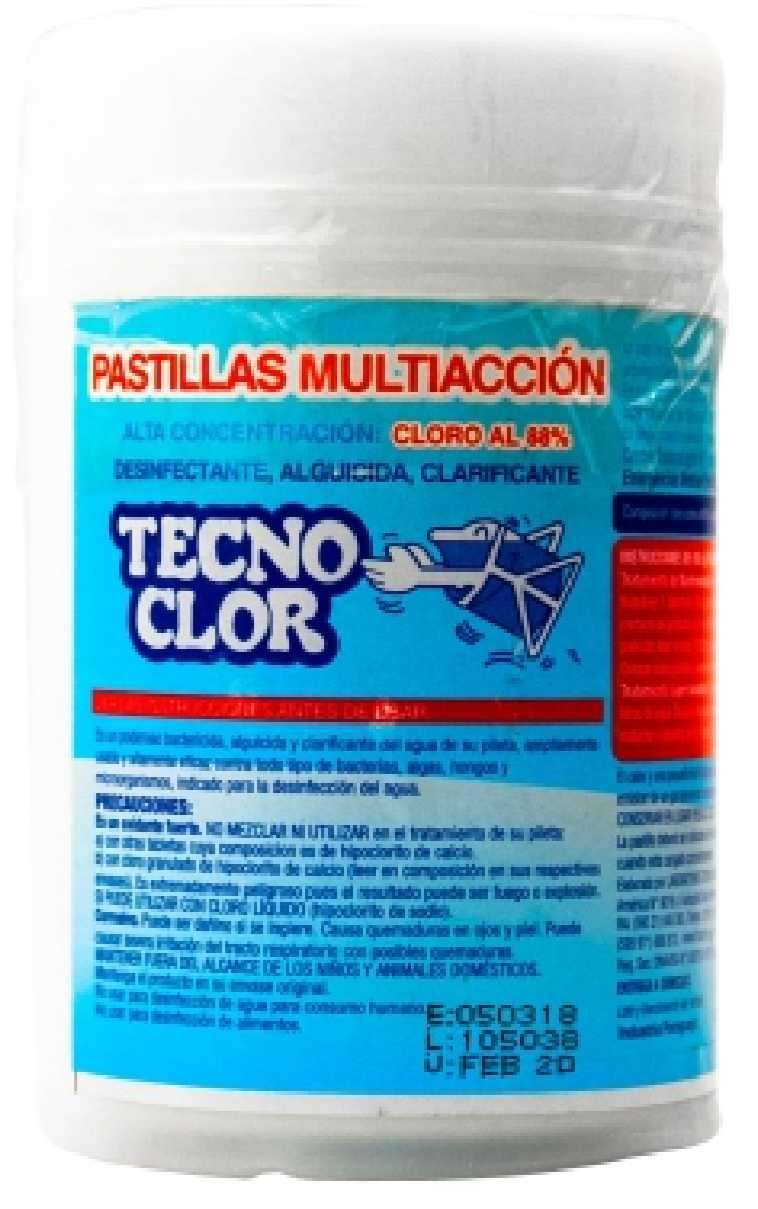 Pastillas de cloro multiacción - 0