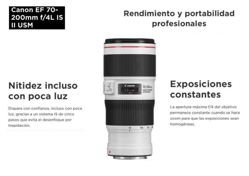 Lente Canon EF 70-200mm F/4L IS II USM - 0