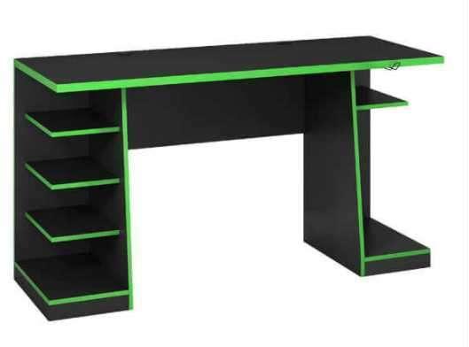 Mesa gamer NT2020 Notavel negro verde - 0