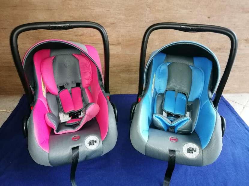 Asiento baby seat para auto noel naty rn a 13 kilos (2155) - 0