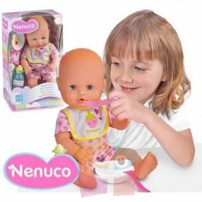 Muñeca Nenuco Cuidados a Comer 35 cm