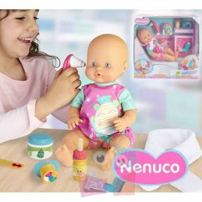 Muñeca Nenuco Dolor de Garganta