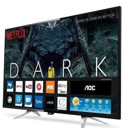 Smart TV 4K AOC de 55 pulgadas - 0