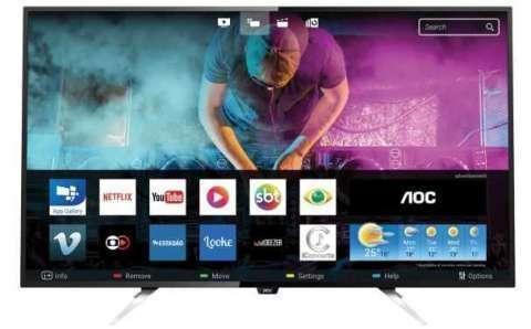 Smart TV 4K AOC de 55 pulgadas - 1