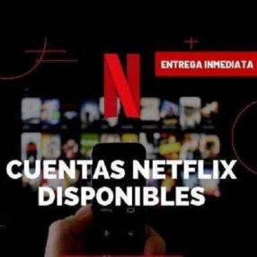Cuentas Premium Netflix 4K