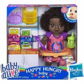 Bebé Come Feliz Morena Baby Alive Hasbro
