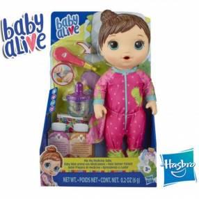 Bebé Prepara mi medicina Castaña Baby Alive Hasbro