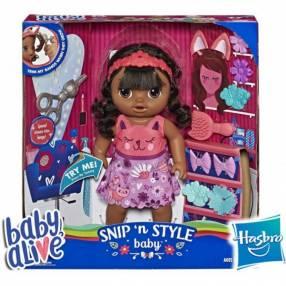 Bebé Peinado Mágico Morena Baby Alive Hasbro