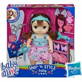 Bebé Peinado Mágico Castaña Baby Alive Hasbro