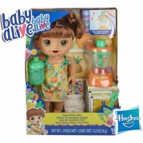 Bebé Batidos Mágicos Castaña Baby Alive Hasbro