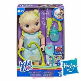Muñeca Baby Alive Tiernos Cuidados Hasbro Rubia