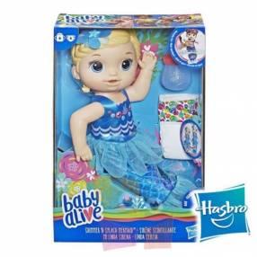Muñeca Baby Alive Mi linda Sirena Hasbro Rubia