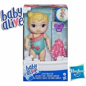 Bebé Chapoteos y Abrazos Castaña Baby Alive Hasbro