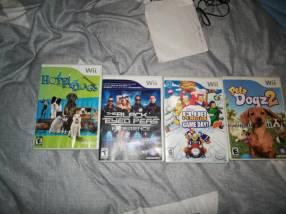 Juegos de Nintendo Wii y 3DS
