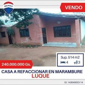 Casa en Marambure Luque