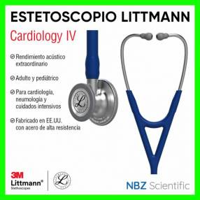 Estetoscopio Littmann Cardiology IV