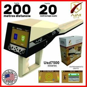 Detector oro direccional USA 200m distancia Ajax Iota nuevo