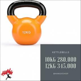 Kettlebells o pesas rusas de 4 10 12 y 16 Kg