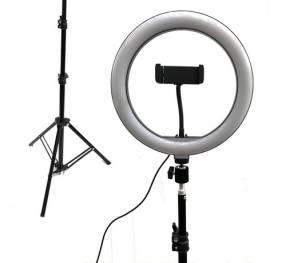 Aro de luz selfie con trípode Kolke