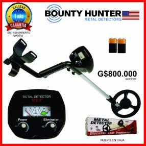 Detector de metales oro tesoro Bounty Hunter USA VLF