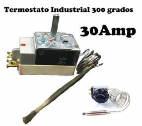 Termostato Industrial 30 Amp para hornos
