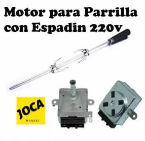 Motor 220V para parrillas grill