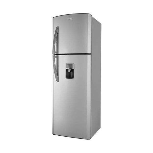 Heladera Mabe inox 320 litros RMC320 frío húmedo 2 puertas con dispenser