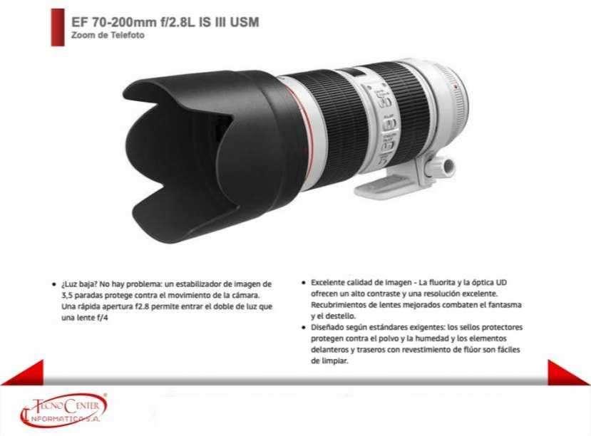 Lente Canon EF 70-200mm F/2.8L IS III USM - 0
