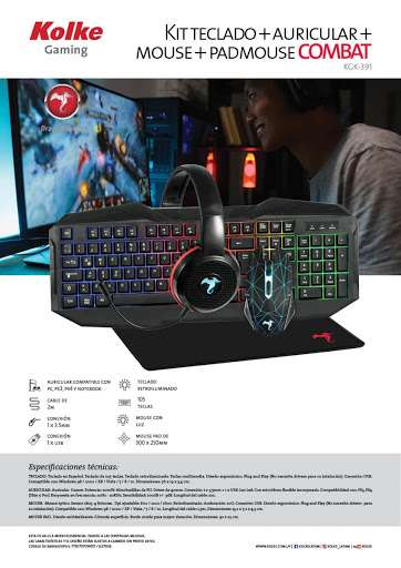 Combo gaming Kolke KGK-391 - 0