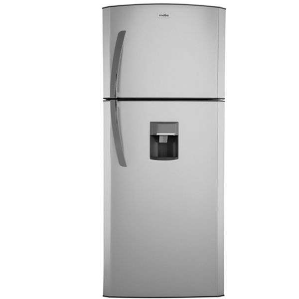 Heladera Mabe RMC390 con dispenser 2 puertas plata - 1