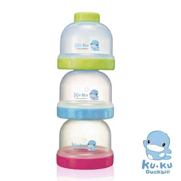 Recipiente de leche en polvo colorido - 1