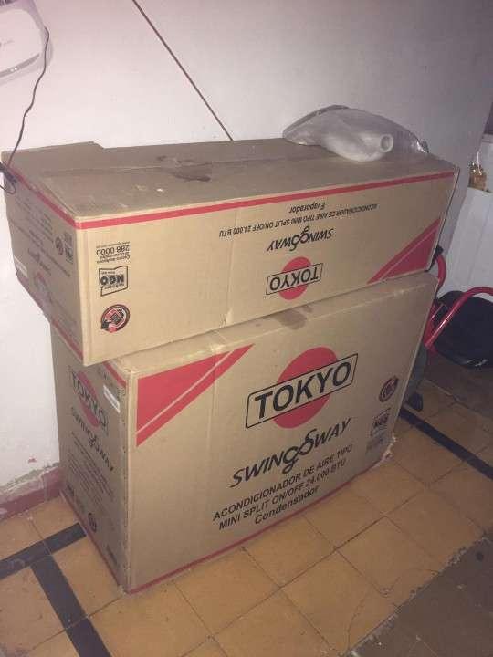 Aire acondicionado Tokyo 24.000 btu - 0