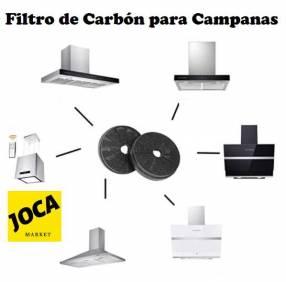 Filtro de carbón activado para campanas de cocina