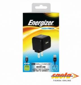 Kit Energizer cargador de pared puerto usb y cable micro usb